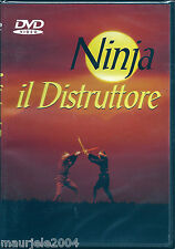 Ninja il distruttore (1970) DVD NUOVO SIGI Bruce Baron, Stuart Smith, Ted Nugent