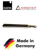 KLENK Face end mill  CARBIDE - 3.5MM  2FLUTE Schaftfräser