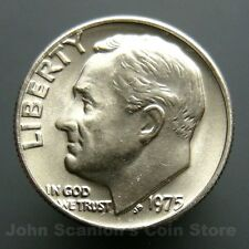 1975 Roosevelt Dime 10c US Mint Coin Choice BU