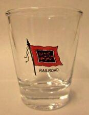 Wabash Railroad / Railway Logo Shot Glass