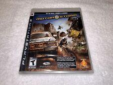 MotorStorm (Sony PlayStation 3, 2007) PS3 Original Brand New, Factory Sealed!