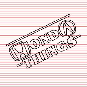 Stranger Things Style Sticker Decal FOR Honda JDM Integra Civic Acura CRX