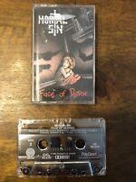 RARE Metal Mortal Sin Face of Despair Cassette Tape Heavy Metal