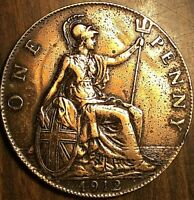 1912 GREAT BRITAIN GEORGE V PENNY COIN
