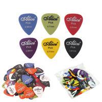 100Pcs Acoustic Electric Guitar Bass Picks Plectrums Mixed 0.58 / 0.71 / 0.81 mm