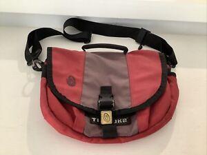 TIMBUK2 Classic Mini Cycling Messenger Shoulder Bag Red Purple