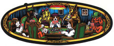 Almost - Poker Dogs Skateboard Sticker - skate board sk8 skating new casino game