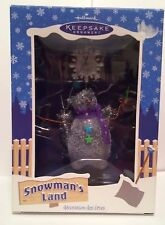 "Hallmark Keepsake Ornament Snowman's Land ""I'm Snow Angel"" Dated 2003 - Nib"
