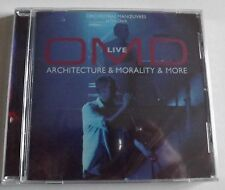 OMD ARCHITECTURE & MORALITY & MORE LIVE CD ALBUM SEALED