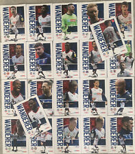 More details for 22 x bolton wanderers home programmes 2020/21 mint