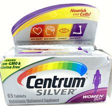 Centrum Silver Women Adult Age 50+ Multivitamin Supplement 65 Tablets