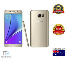 Samsung  Galaxy Note 5 SM-N920F Gold - 32GB - 4G 16PM, Unlocked Shipped From Syd