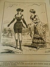 Typo 1883 A la mer Ce lugubre costume de bain