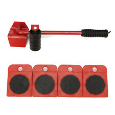 440lbs Furniture Lifter with 4pc Mover Rollers, Fits Wood Floor and Tile Floor