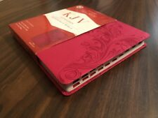 KJV Ultrathin Reference Bible Indexed - $29.99 Retail - Pink Leathertouch