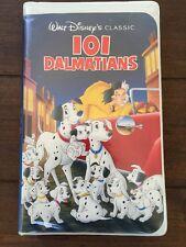 Rare Vintage 101 Dalmatians   (VHS)- Walt Disney's  Black Diamond Classic