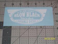"Duramax Diesel 5"" Vinyl Decal sticker laptop windows wall car boat"