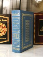 THE BEST POEMS OF THE ENGLISH LANGUAGE - Easton Press - Harold Bloom - SCARCE