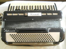 Scandalli Professional 20 Accordion 120 Bass made in Italy AS IS