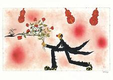 Kunstkarte: Michael Ferner - Himmel voller Geigen