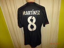 FC Bayern München Adidas Champions League Trikot 2012/13 + Nr.8 Martínez Gr.M