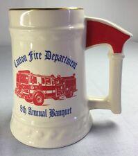 Volunteer Fire Department ( Canton Texas ) Beer Stein, Tankard, Mug, Cup, SUNSET