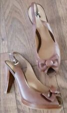 XX SALE XX - MONSOON - Ladies High Heel Leather Court Shoes - Size 4 - New