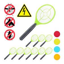 10 x Fliegenklatsche elektrisch, Fliegentöter grün Mückenklatsche gegen Insekten