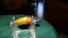 VINTAGE HEDDON DEEP-6 LURE OLD FISHING LURES CRANKBAIT BASS PLUG BAIT WOW
