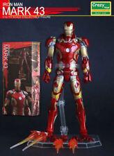 "Crazy Toys Marvel Comic 6""/10""/12""/18"" The Avengers Action Figure Model"