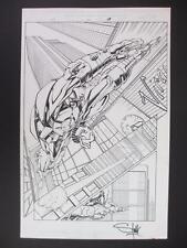 Iron Man #44 Marvel 2001 (Original Art) Splash Page 14 - Keron Grant & Rub Stull
