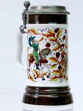 More details for vintage crown bavaria germany milk glass beer mug