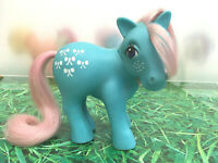 My Little Pony G1 Bow Tie Shy Pose Vintage Toy Hasbro 1983 Collectibles MLP *