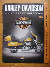 FASCICULE 50  MOTO COLECCION HARLEY DAVIDSON FLHTK ELECTRA GLIDE 2013