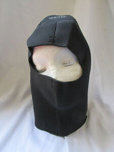 Whites Men's/Women's Scuba Cold Water Hood Black & White Size L Large in EUC