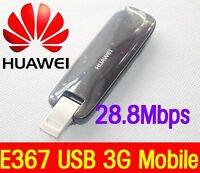 UNLOCKED Huawei E367 HSPA+ 28.8Mbps GSM Fastest USB 3G Mobile Broadband  Dongle