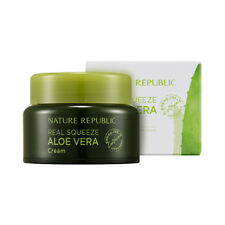 [NATURE REPUBLIC] Real Squeeze Aloe Vera Cream - 50ml / Free Gift