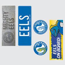 NRL Parramatta Eels Set of 5 UV iTag Bumper Decals / Stickers