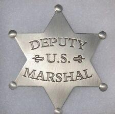 Deputy U.S. Marshal Western Replica Star Badge - John Wayne in True Grit PHC05