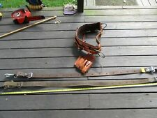 Bushkin Climbing Harness Klein And Buckingham Belts Preowned Sz 700mm