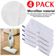 4 Pack Washable Replacement Cleaning Pads For Shark Steam Mop S3501 S3601 S3901