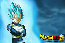 Dragon Ball Super Poster Vegeta Blue 12inches x 18inches Free Shipping