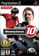Used PS2 World Soccer Winning Eleven 10 Import Japan