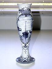 Beautiful Antique Art Nouveau Delft Holland Vase