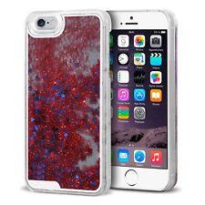 Coque arrière Liquid Diamonds Crystal Paillettes Pour iPhone 6 (4.7) Rouge