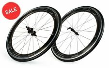 HED Jet 6 Plus Carbon Road Wheelset - Clincher - 25mm wide at the brake! 21mm ID