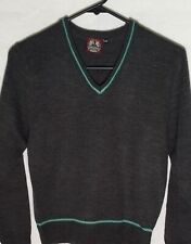 EXCELLENT QUALITY!  HARRY POTTER  SLYTHERIN PULLOVER  KNIT SWEATER  GREEN SILVER