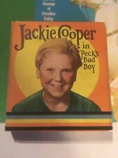 JACKIE COOPER PECKS BAD BOY HARDCOVER Saalfield Big Little Book 1084