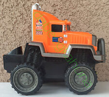 """Fisher-Price - Tractor Trailer Cab - Plastic Body - Rubber Tires - Approx 7 """" L"""