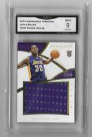 2014 Julius Randle Rookie x/99 Jersey Mint 9 Card